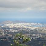 Aussicht vom Pico de Bandama über den Norden vor dem Caldera de Bandama