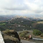 Aussicht vom Pico de Bandama über die Insel hinter dem Caldera de Bandama