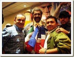 Mario con Don King 2010