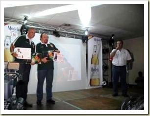 Mario Peniche en la presentación de Leones 2010