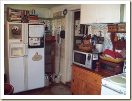 Kitchen before fridge 1