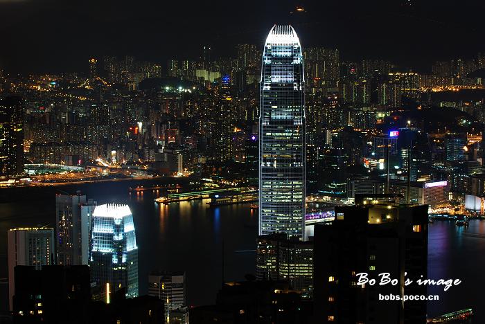 航拍维港夜 - 清韵 - 清韵的博客