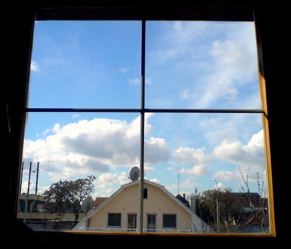 sasszem után így láttam ki az ablakon