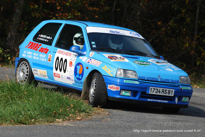 Max BENAZECH / Mathieu FAVREAU - Clio 16S FA7 Rallye%20des%20C%C3%B4tes%20du%20Tarn%202010%20020