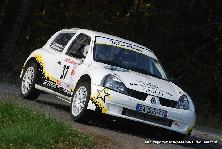 Cédric TEISSEYRE / Valérie TIRBOIS - Clio RS F214 Rallye%20des%20C%C3%B4tes%20du%20Tarn%202010%20107