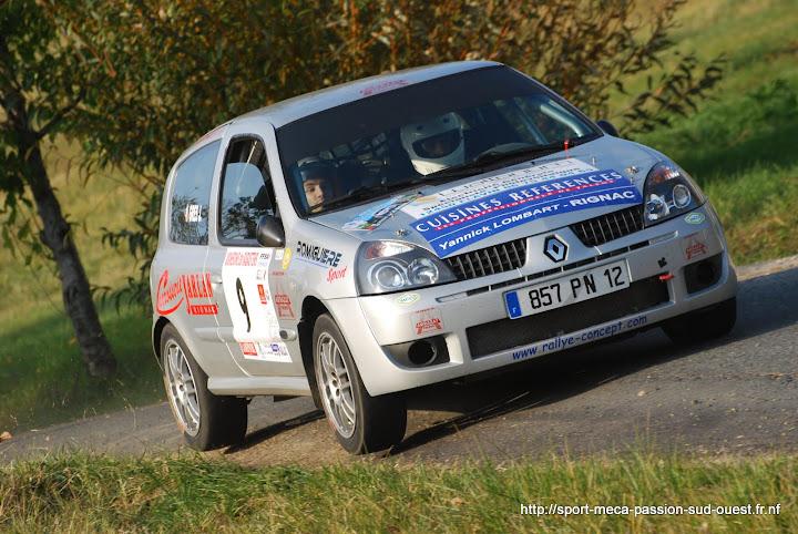 Alexis MURAT / Johan GRES - Clio RS F214 Rallye%20des%20C%C3%B4tes%20du%20Tarn%202010%20256
