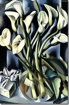Calla Lilies, 1941