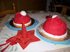Il dolce forno di may torta cappello di babbo natale - Dolce forno gioco ...
