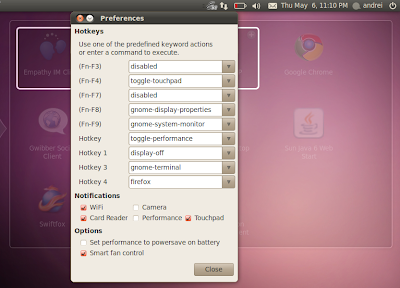 eee-control ubuntu 10.04 lucid lynx