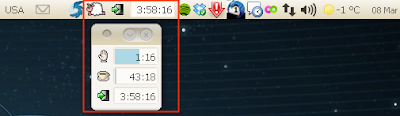notification area workrave