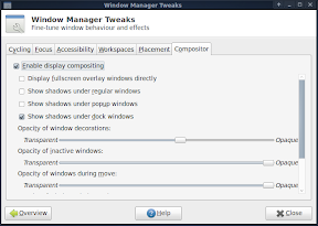 xfce compositing manager screenshot