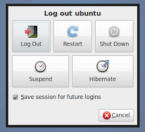xubuntu 10.04 shutdown dialog screenshot