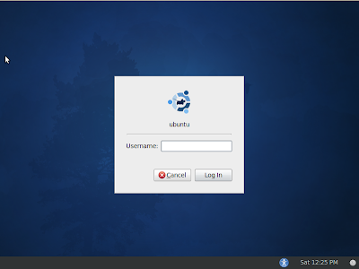 xubuntu 10.04 lucid beta 1 login screen screenshot