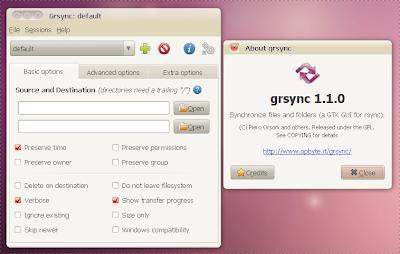 grsync 1.1.0