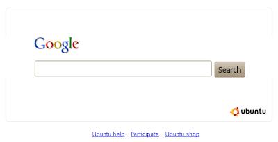 google default search engine Ubuntu 10.04 Lucid Lynx