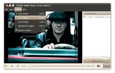 gnome media player ubuntu screenshot