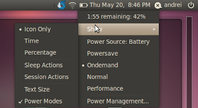 battery status screenshot ubuntu