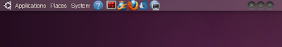 transparent panel ubuntu 10.04
