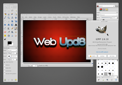 the gimp 2.6.10 ubuntu