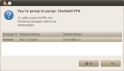 ubuntu tweak purge ppa