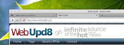 Elementary Firefox tabs on top