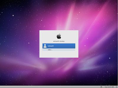 ubuntu macosx login screen