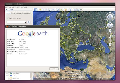 Google Earth Plugin Ubuntu