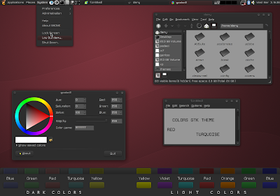 Colors gtk theme
