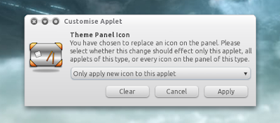 AWN change applet icon