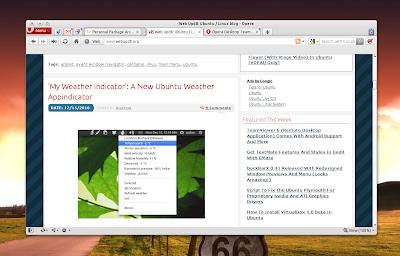 Opera 11 Ubuntu