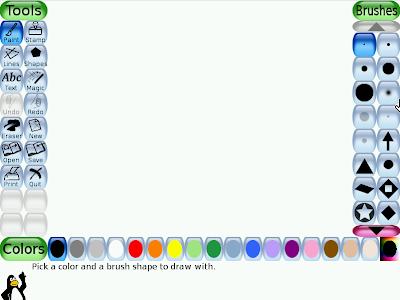 DouDouLinux Tux Paint