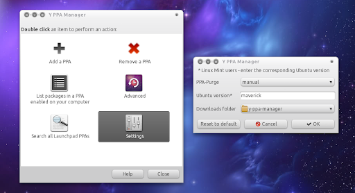 Y PPA Manager 0.0.5 comes with GUI for settings and repositories backup/restore feature | Ubuntu & LinuxMint