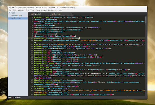 Sublime Text 2 Linux