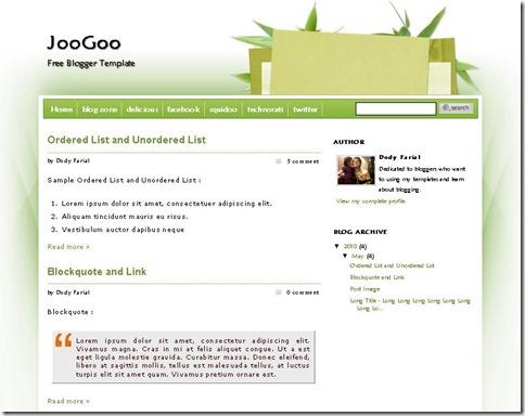 JooGoo Green