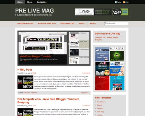 Pre Live Mag