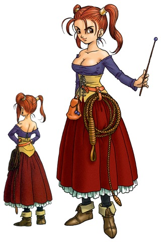 Character design drawings from the Square Enix folks show how Jessica's ...