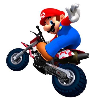 Mario Kart Wii Mario