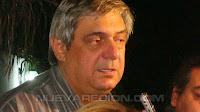 Marcelo Vital Dainotto en San Lorenzo con la prensa. NUEVAREGION.COM