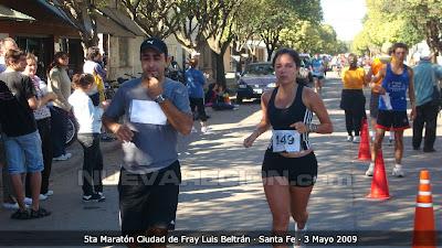 180 atletas en la 5ta maratón Ciudad de Fray Luis Beltrán