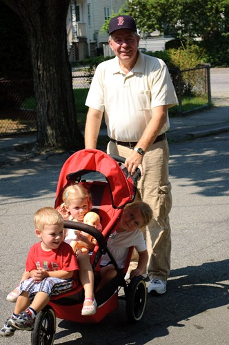 2009-08-18 Walk with Grandpa Otis 005