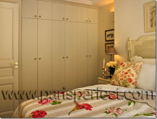 Clairette bedroom closets