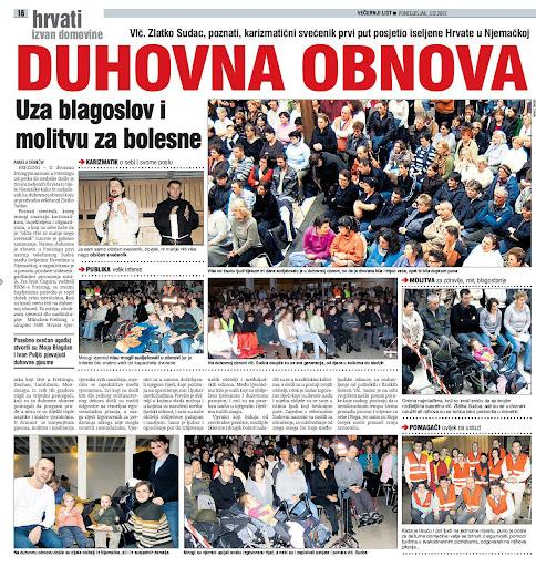 HKM-Freising - Duhovna obnova sa Vlc. Zlatko Sudac 30.11. - 02.12.2007