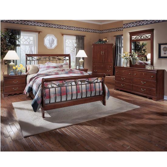 Best Highland Park Sleigh Bedroom Set Harmony Bedroom Set