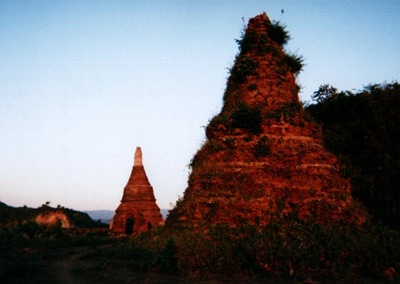 myanmar_mrauk_u_sunset
