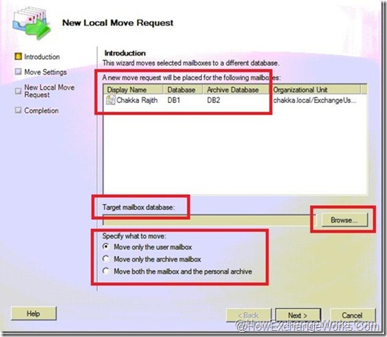 New Local Move Request options in 2010 sp1