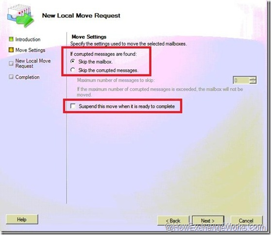 New Local Move Request options 2in 2010 sp1