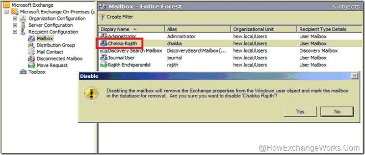 Disable Chakka Mailbox