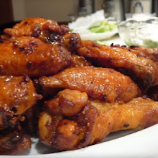 Simple Baked Buffalo Wings