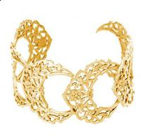 Lace Like Gold Jewelry by Catherine Weitzman
