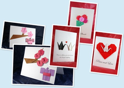 View Origami Inspired Cards